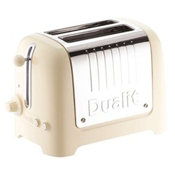 Lite - 26202 Toaster, 2 slot, cream