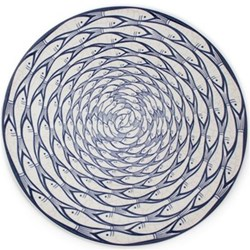 Sardine Run Charger plate, 32cm