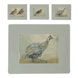 Set of 6 placemats 27 x 22cm