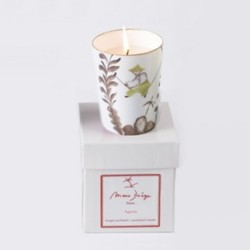 Perfumed candle in giftbox
