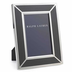 Photograph frame, with carbon fibre inlay 5 x 7""