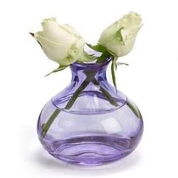 Jewel Bud vase, amethyst