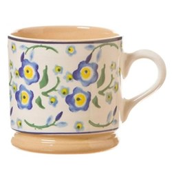 Forget Me Not Set of 4 small mugs, H7cm