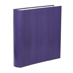 Oyster Bay Photograph album square with 70 leaves, 36cm, amethyst lizard