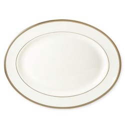 Sonora Knot Oval platter, 33cm