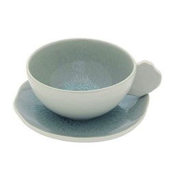 Pair of teacups and saucers 20cl