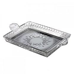 Lismore Diamond Square serving tray, 30cm