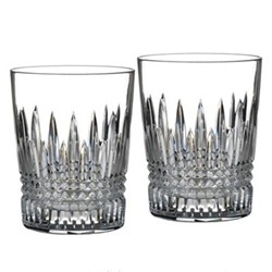 Lismore Diamond Pair of tumblers