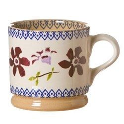 Set of 4 small mugs H7cm