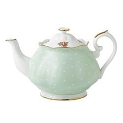 Polka Rose - Vintage Teapot