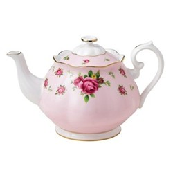 New Country Roses - Vintage Teapot, 1.25 litre, pink
