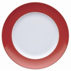 Sunny Day Plate, 22cm, new red