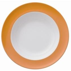 Sunny Day Deep plate, 23cm, orange