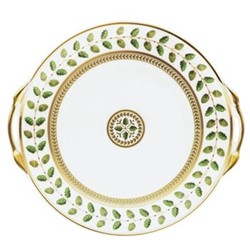 Constance Cake plate with handles