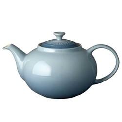 Stoneware Classic teapot, 1.3 litre, coastal blue