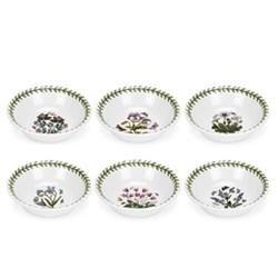 Botanic Garden Set of 6 mini bowls, 13cm