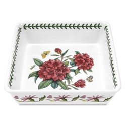 Deep square dish 25cm