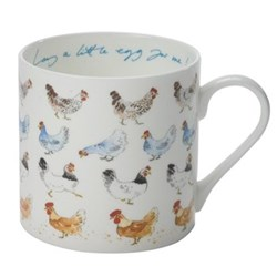 Chicken - Lay a Little Egg for Me Mug, 42.5cl