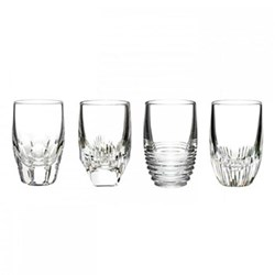 Set of 4 shot glasses 10.5cm