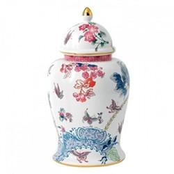 Lidded vase 40cm