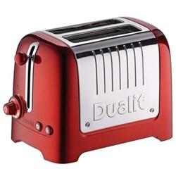 Lite - 26281 Toaster, 2 slot, metallic red