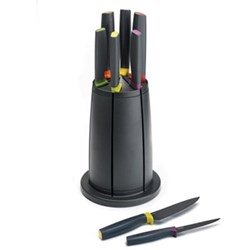 6 piece knife set with carousel stand