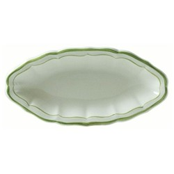 Filets Vert Pickle dish, 26.5 x 13cm