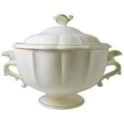 Filet Vert Soup tureen, 4 litre