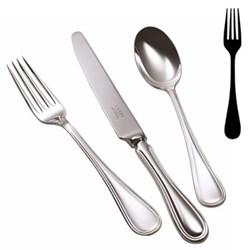 English Thread Dessert fork, stainless steel