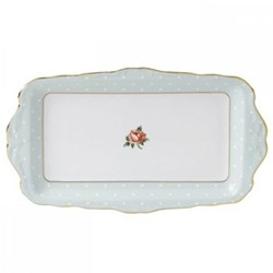 Polka Rose - Vintage Sandwich tray