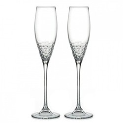 Vera Wang - Sequin Pair of Champagne flutes