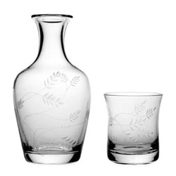 Country - Wisteria Carafe and tumbler, H20.5cm - 80cl
