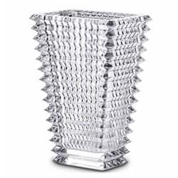 Eye Rectangular vase, 20cm, clear