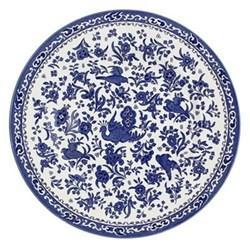 Regal Peacock Side plate, 17.5cm, blue