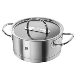 Prime Stewpot with lid, 20cm, stainless steel