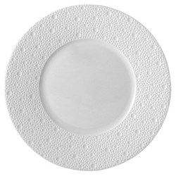 Ecume Set of 6 salad plates, 21cm, white