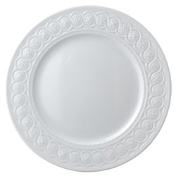 Louvre Set of 6 dinner plates, 26cm, white