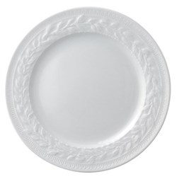 Louvre Set of 6 salad plates, 21cm, white