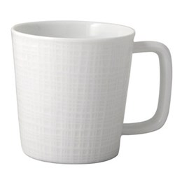 Organza Set of 4 mugs, 24cl, white