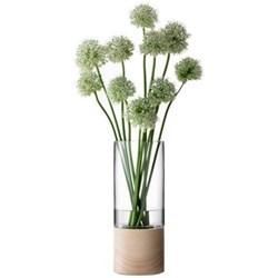 Vase with ash base 36cm
