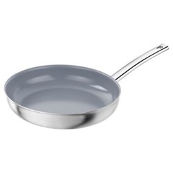 Prime Frying pan, 28cm, stainless steel, thermolon (ceramic coating)
