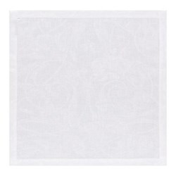 Tivoli Set of 4 napkins, 50 x 50cm, white