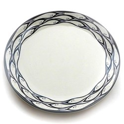 Sardine Run Set of 4 dinner plates, 28cm
