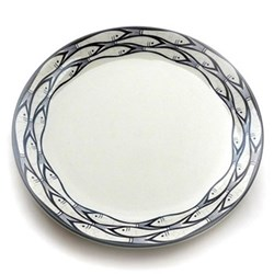Sardine Run Set of 4 side plates, 20cm