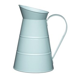 Living Nostalgia Water jug, 2.3 litre, blue enamelled steel