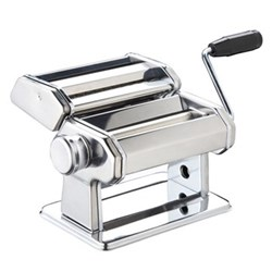 Double cutter pasta machine