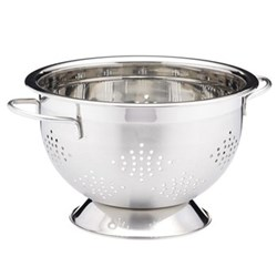 Master Class Colander with 2 handles, 27cm, satin finish