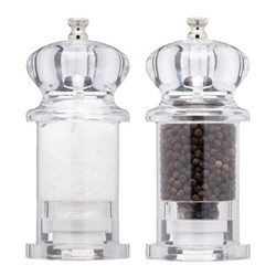 Salt and pepper mill 13cm