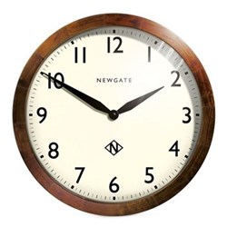 The Wimbledon Wall clock, 45 x 45 x 6cm, solid wood