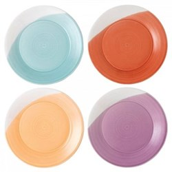 1815 Brights Set of 4 plates, 23cm, mixed colours